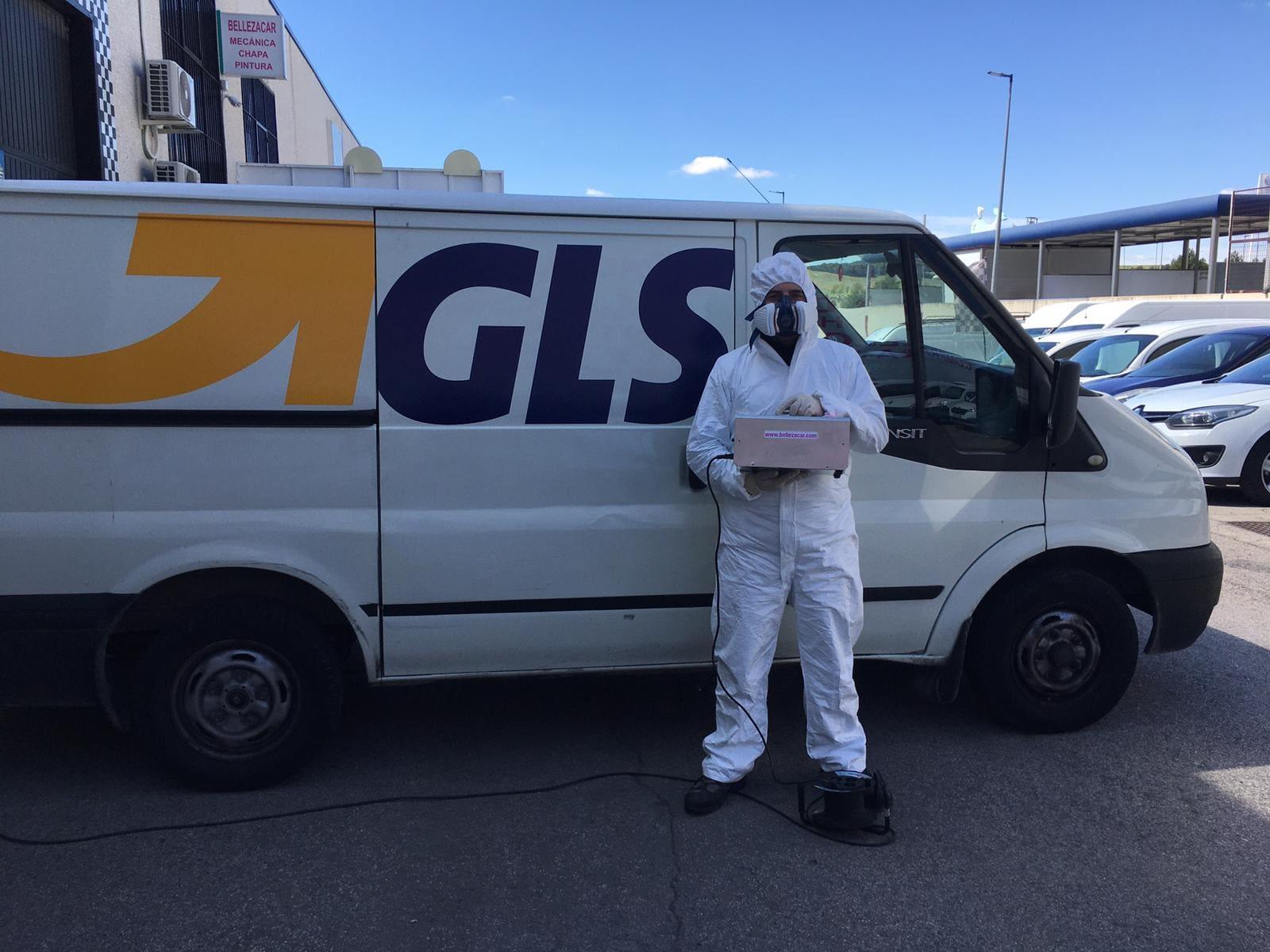 desinfección de vehículos con ozono en madrid